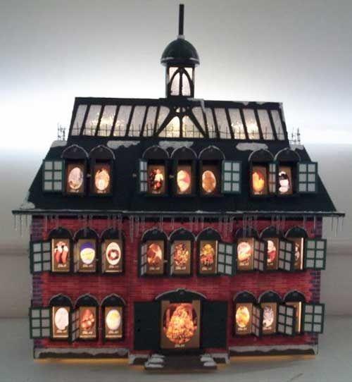 Christmas Vacation Advent House/Advent Ideas for Next Year - Harris ...