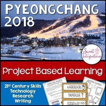PROJECT BASED LEARNING ACTIVITY: 2018 Winter Games (Olympics) Use this 46 page resource with your 3rd, 4th, 5th, or 6th grade classroom or home school students. Your students will the history of the Olympics, winter sports, and the country of South Korea. This high interest PBL unit is challenging, engaging, and creative! The activities included allow for differentiation and technology integration. Great for second, third, fourth, fifth, sixth graders. Grab it today!