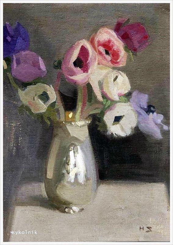 Helena Sofia Schjerfbeck (Finnish, 1862 - 1946) Still & landscape - «Впечатления дороже знаний...»