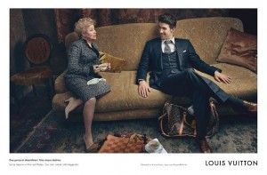 Team USA Star Michael Phelps In New Louis Vuitton Adverts