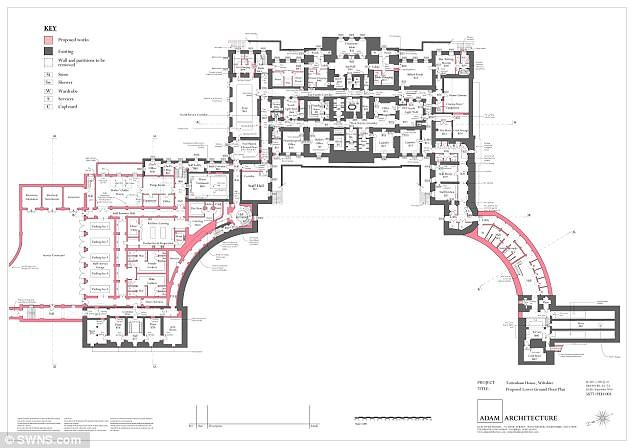 Rundown 12m Country Estate Dating Back 900 Years Is To Be Restored Country Estate English Country House Floor Plans
