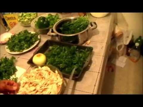 49.Pozole Verde De Cerdo-Antojitos Mexicanos (Como Hacer)(How To)-LaFlacaCocina - YouTube