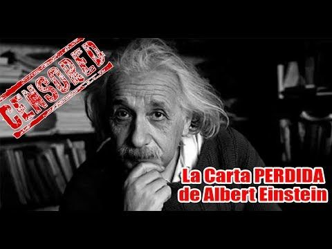 @YOUTUBE La carta perdida de Albert Einstein sr. mistico