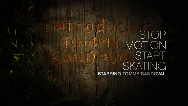 """*click on twice to watch a short stop motion film clip of Tommy Sandoval, """"Stop Motion Start Skating"""""""