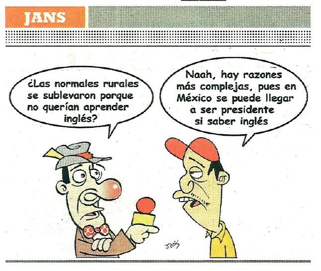 Puesto: Presidente, Dominio del Ingles: No necesario, puede payasear. @EPN #twittab