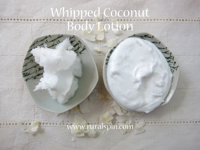 Making whipped coconut body lotion is very easy, and has many benefits for your skin!