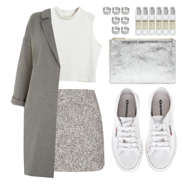 """""""should've been us"""" by vogueordie ❤ liked on Polyvore featuring moda, Topshop, Le Labo, Chicnova Fashion, Superga, Oasis, ASOS, Whistles e dusterjacket"""