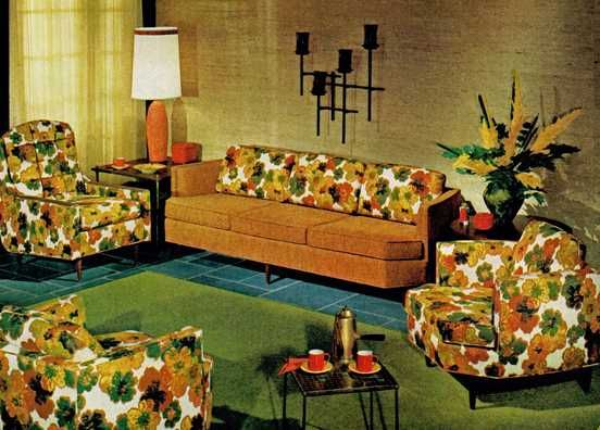 Howard Parlor Custom Furniture 1966 FurnitureVintage DecorFurniture DesignRetro VintageFurniture IdeasHistory TimelineMid Century