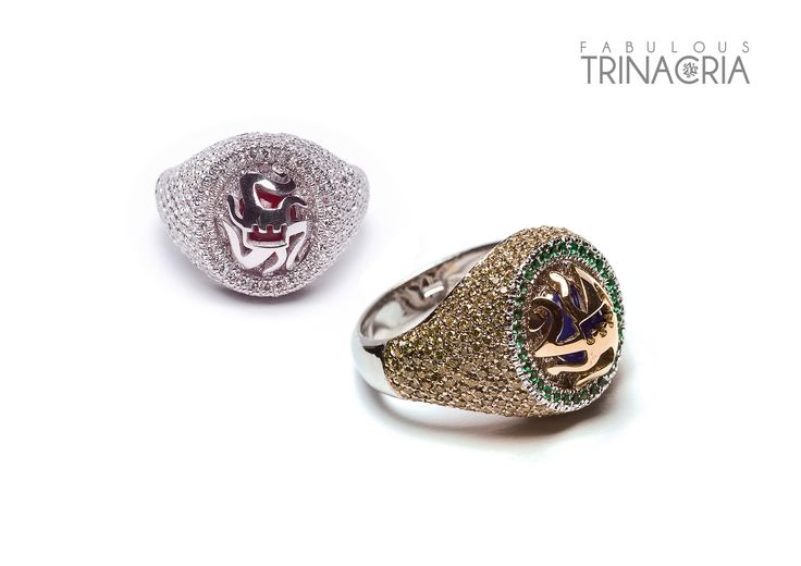 Fabolous Trinacria Collection - #digregorio_milano #digregoriogioielli_milano #yellowdiamonds #whitediamonds #sapphire #ruby #emeralds #whitegold #cavalier #rings #sicily #trinacria #jewel #jewellery #finejewellery #luxury