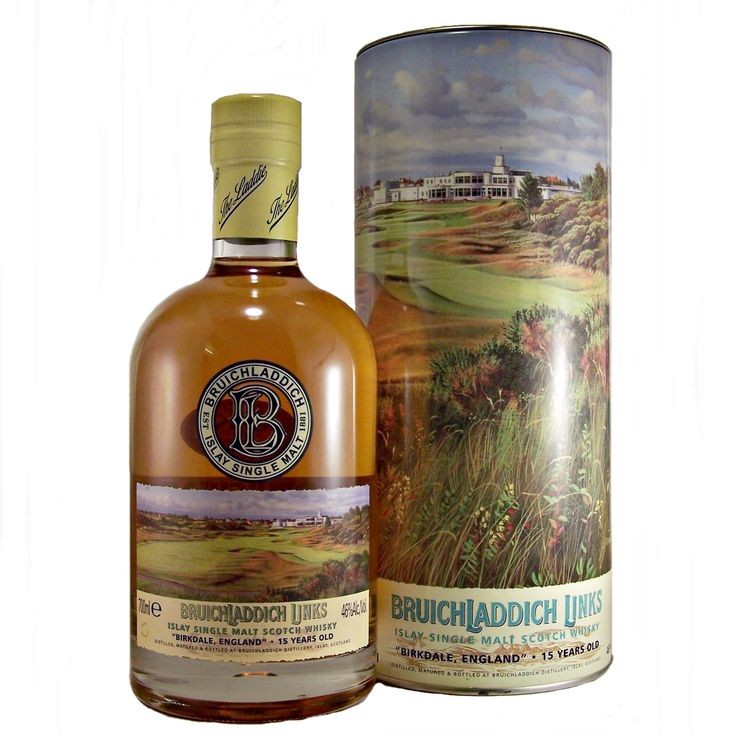 Bruichladdich Links Birkdale England Islay Single Malt Whisky available to buy online at specialist whisky shop whiskys.co.uk Stamford Bridge York