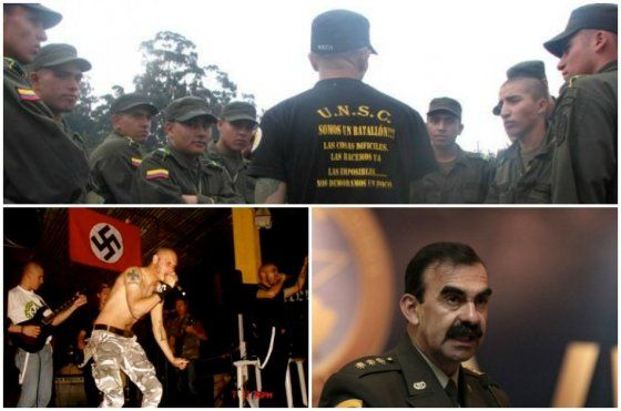 Crece polémica por supuesta relación del general Palomino con grupos neonazis