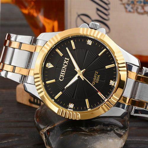 Original CHENXI Relógio De Ouro Dos Homens Top Marca de Luxo Famoso Relógio de Ouro Masculino Relógio de Pulso de Quartzo Relógios De Pulso Homem Relogio masculino(China (Mainland))