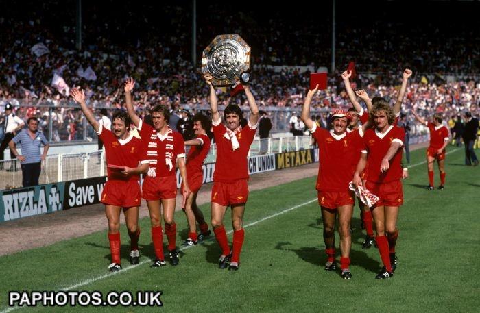 Soccer - Charity Shield - Arsenal v Liverpool - Wembley Stadium 1979