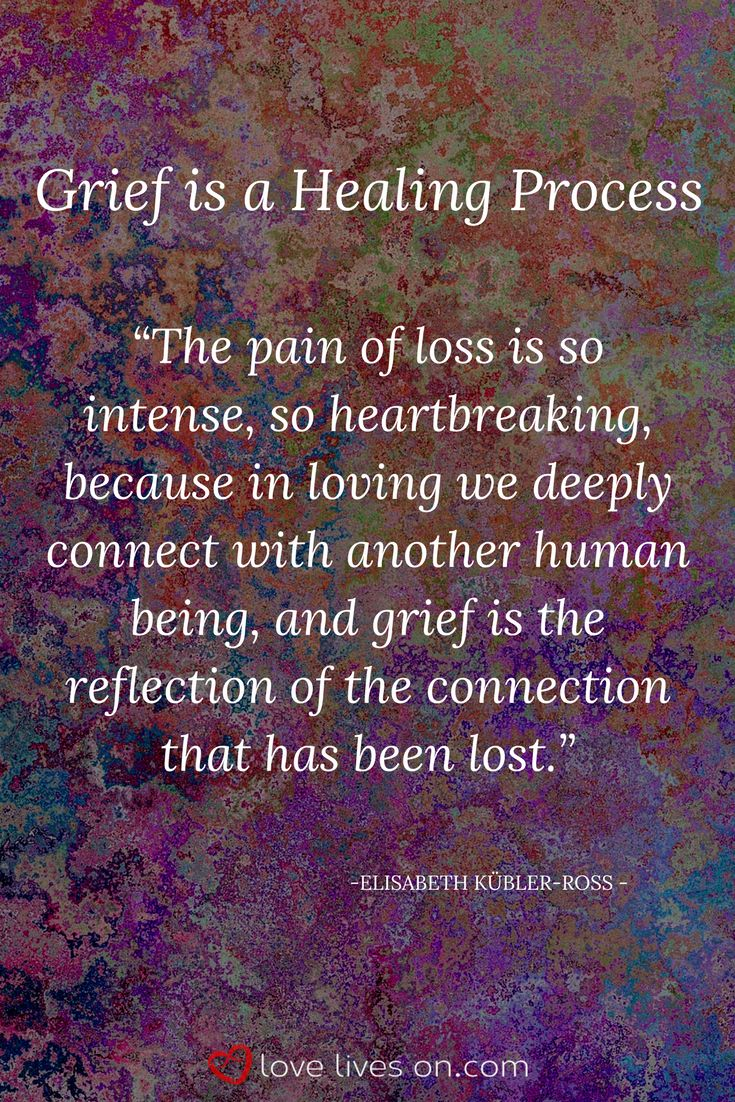 Grief Definition | Grief is a Healing Process.