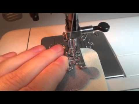 Как шить игрушки из фетра на машинке