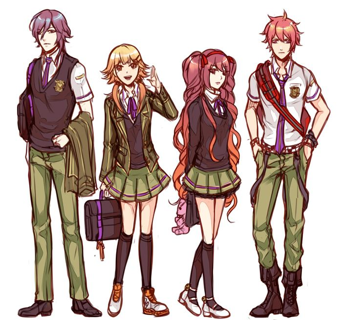 School Uniforms Anime Boys