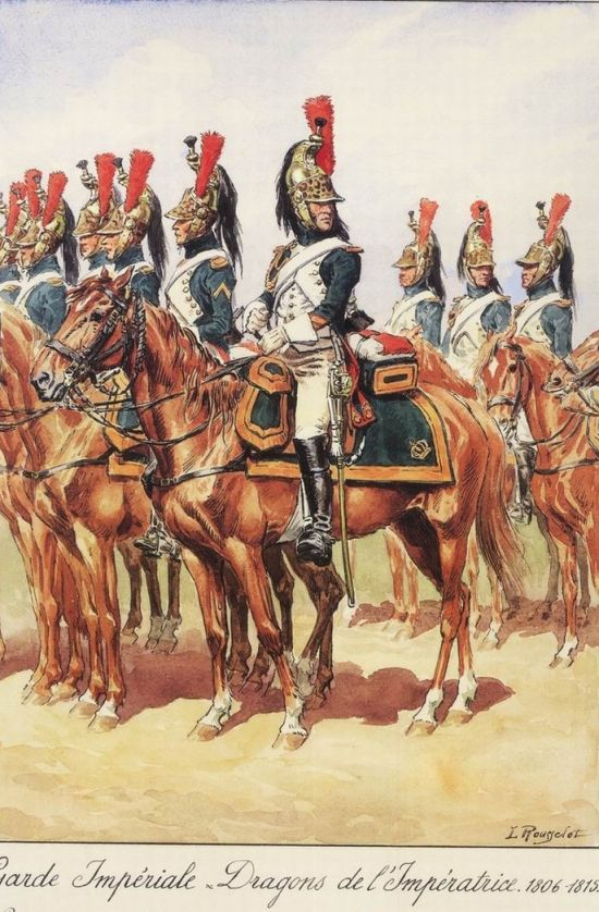 Favourite cavalry unit of the French Imperial Guard - Armchair General and HistoryNet >> The Best Forums in History