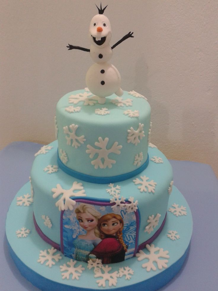 Bolo Da Frozen Bolos Decorad Pinterest Frozen