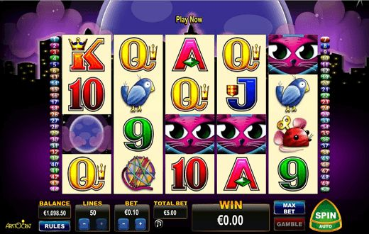 Enter the World's finest Casino and feel the thrill and excitement of 24/7 live play! Play @ Megajackpot.com and Get your FREE 250 Euros or continue playing here https://www.megajackpot.com/games/miss-kitty/