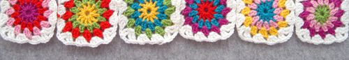 Double Crochets: Color Combo Generator for granny squares