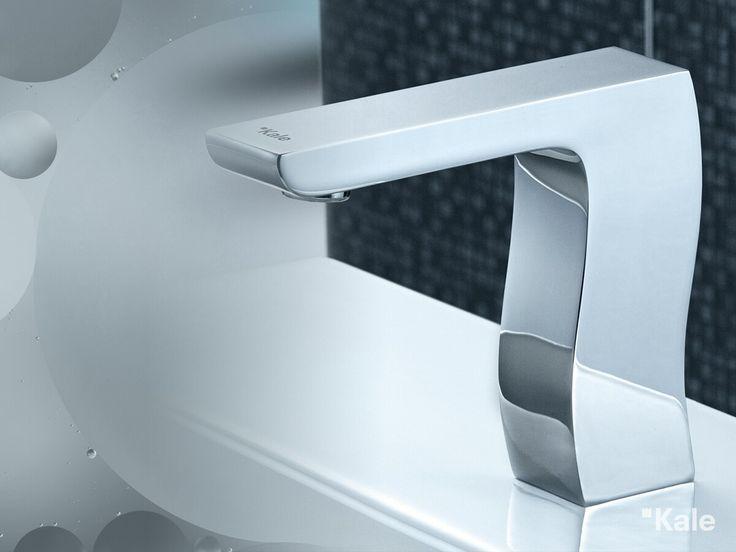 Feel Mono kapasitif lavabo bataryası banyolarda %50 su tasarrufu sağlıyor. #kale #banyo #tasarım #smart #akıllı #tasarruf #bathroomideas #bathroom #designideas #design