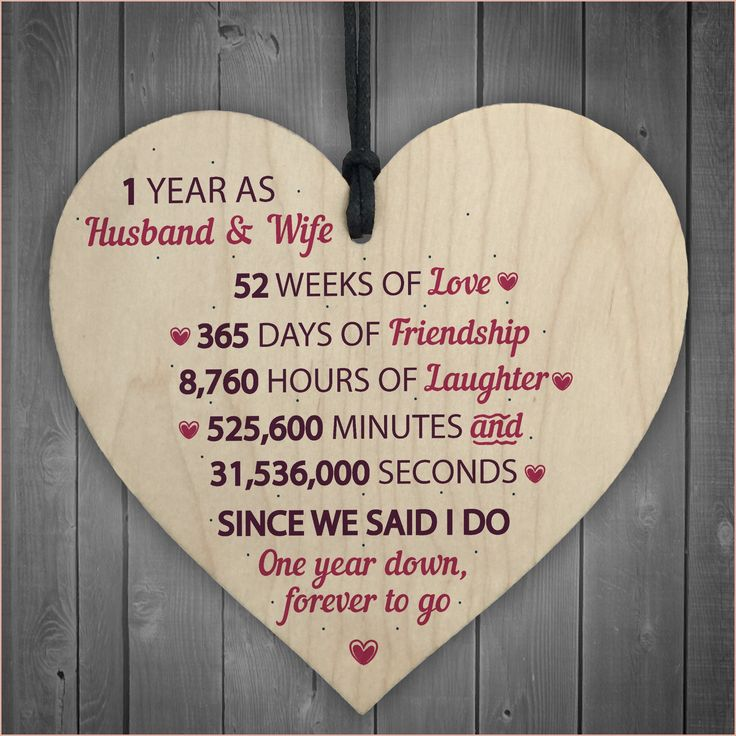 11 outstanding 1 year wedding anniversary gifts for her