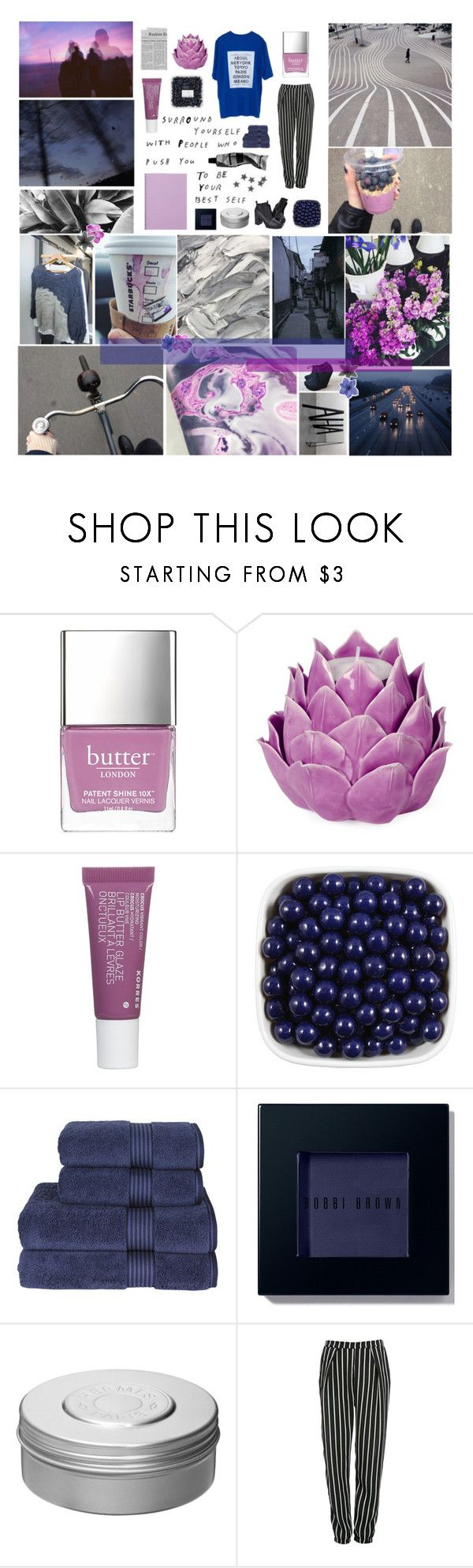 """don't tell me what to do"" by random-little-me ❤ liked on Polyvore featuring GET LOST, Nicole Miller, She's So, Butter London, Zara Home, Korres, Christy, Bobbi Brown Cosmetics, Hermès and Aesop"