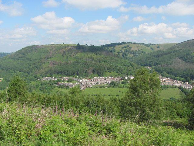 Brynawel from the Sirhowy Valley
