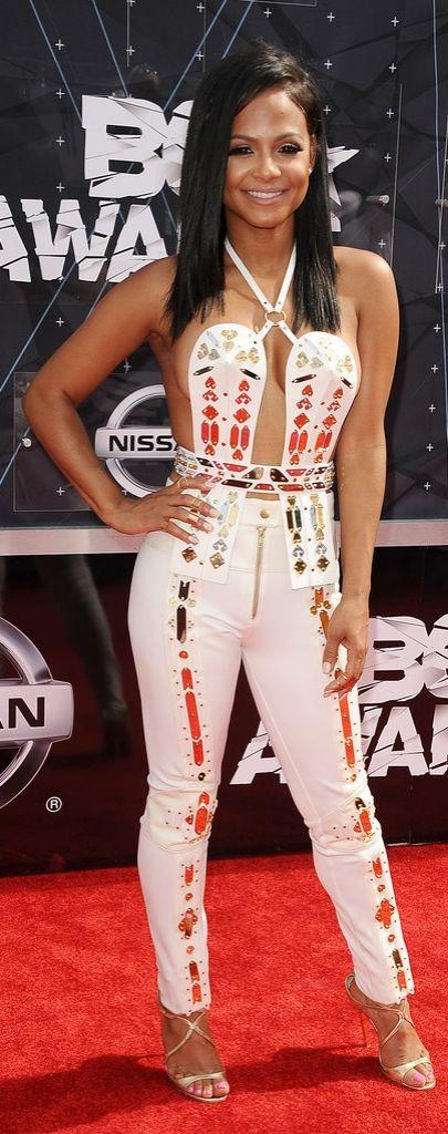 Christina Milian at the 2015 BET Awards