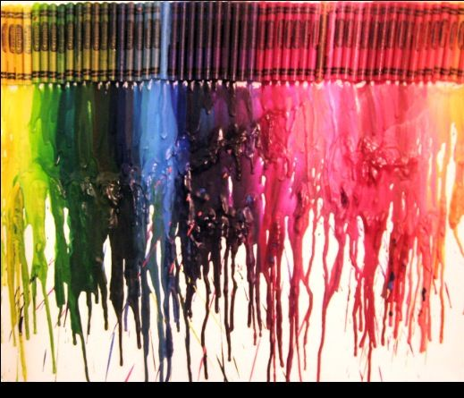 Cool Crayon Art