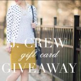 $100 J. Crew Gift Card Giveaway  Open to: United States Canada Other Location Ending on: 01/23/2017 Enter for a chance to win a $100 J. Crew Gift Card. Enter this Giveaway at The Blue Hydrangeas  Enter the $100 J. Crew Gift Card Giveaway on Giveaway Promote.