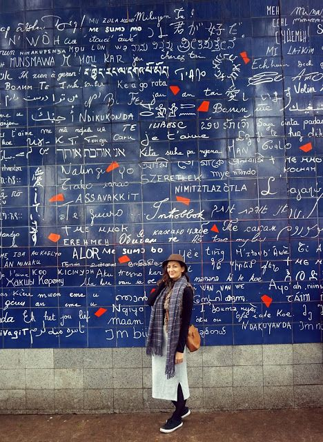 Where to find Love wall in Paris? Click on the picture