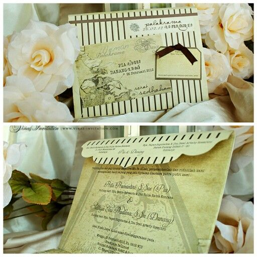 Vinas invitation. Unique invitation. Wayang. Indonesia culture. Indonesia wedding. . Any question please visit us at website www.vinas-invitation.com. courtesy of Pia and Danang