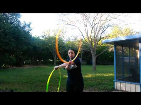 The Portal Weave - Doubles Hula Hoop Tutorial - YouTube