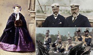 The King versus the Kaiser: Royal rift that meant George V and Tsar Nicholas lined up against their German cousin in World War I | Daily Mail Online