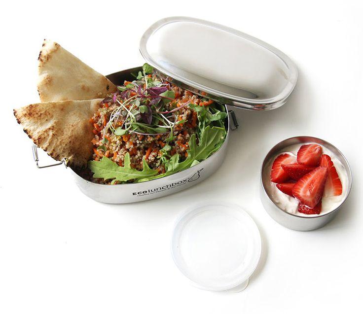 Gesunde Mittagspause statt Fett & Kalorien in Verpackungsmüll: Wir zeigen dir, wie Du Dich beim Mittagessen ausgewogen ernährst. Tipps & Tricks ohne Streß…