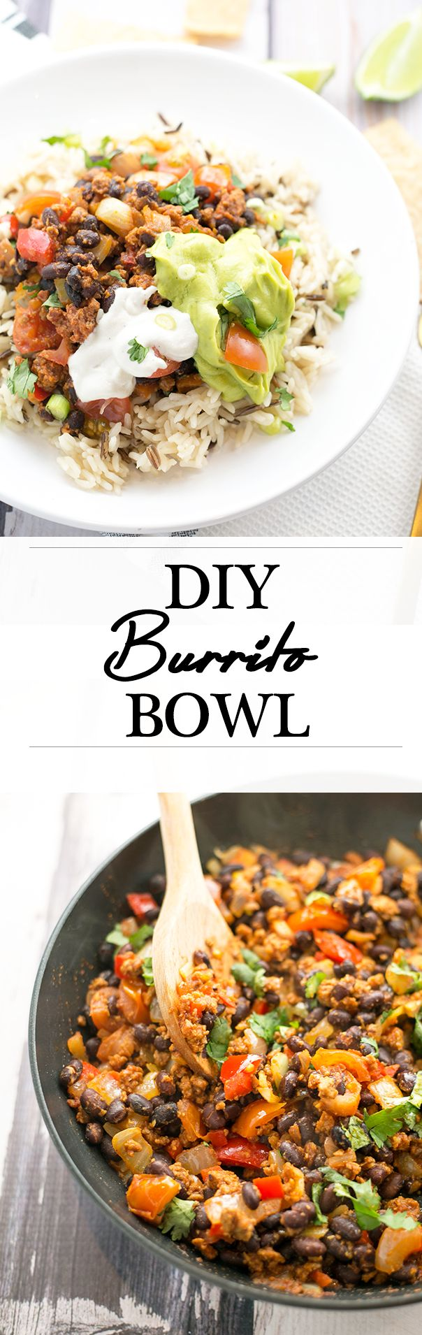 DIY Vegan Burrito Bowl (That Doesn't Have A Wall Around It)