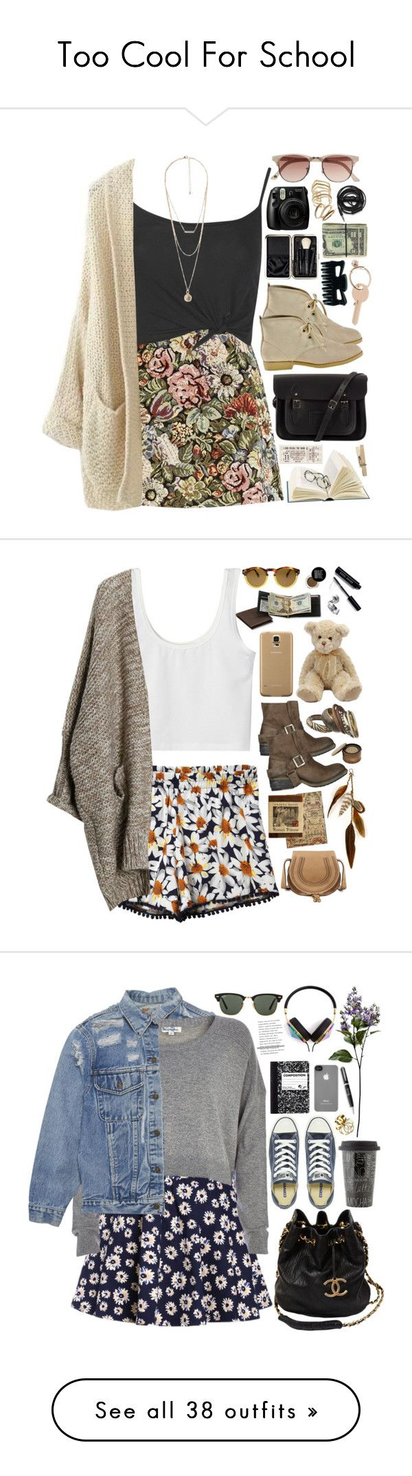 """Too Cool For School"" by chocolatepumma ❤ liked on Polyvore"