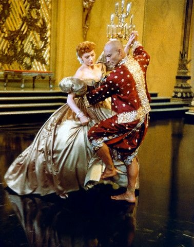 Yul Brynner and Deborah Kerr in The King and I - not my favorite movie, but this is a really sexy, amazing dance scene