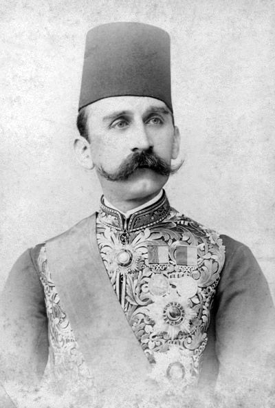 Photograph of Hussein Kamel (1853-1917), Sultan of Egypt.