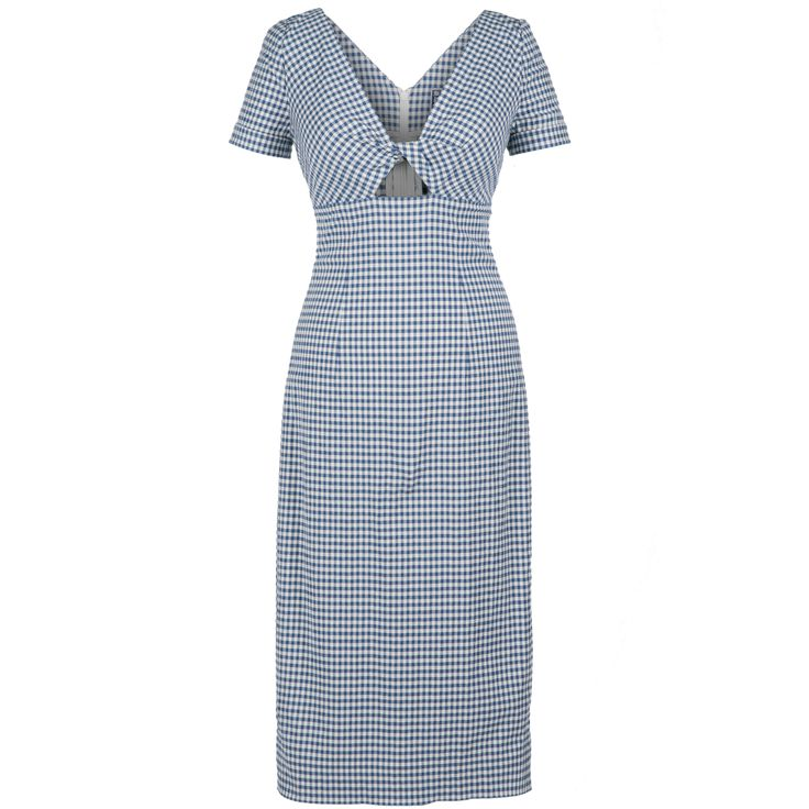 Shore Dress vichy blue - Dresses - Outlet - Online Shop  - Lena Hoschek Online Shop