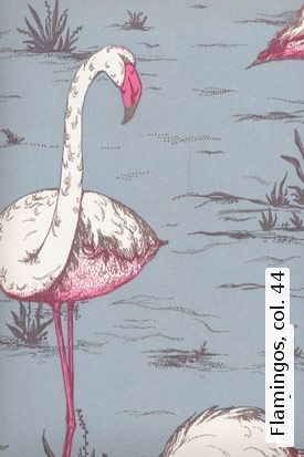 Tapete: Flamingos, col. 44 - TapetenAgentur
