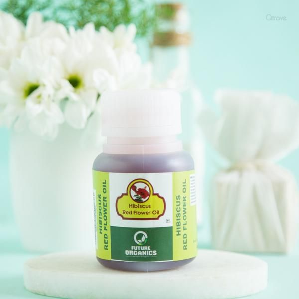 100 Natural Hibiscus Red Flower Oil With Images Natural Hair Oils Paraben Free Products Flower Oil