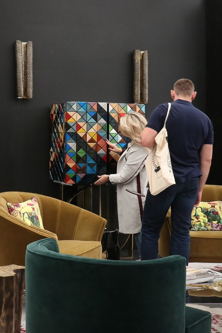 The Best Moments From BRABBU At Decorex 2017 So Far // London Design Festival. Design Events. Interior Design. #Decorex #LDF #interiordesign Read more: https://www.brabbu.com/en/inspiration-and-ideas/interior-design/best-moments-brabbu-decorex-2017-far