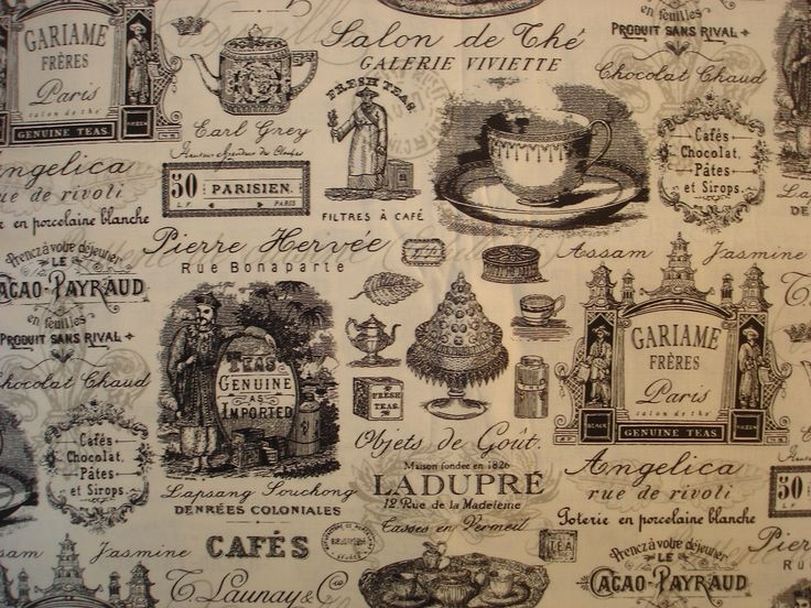 Franny Annies your online fabric store - French Tea Cafe Black  fabric Fat Quarter, $6.00 (http://www.frannyannies.co.nz/french-tea-cafe-black-fabric-fat-quarter/)