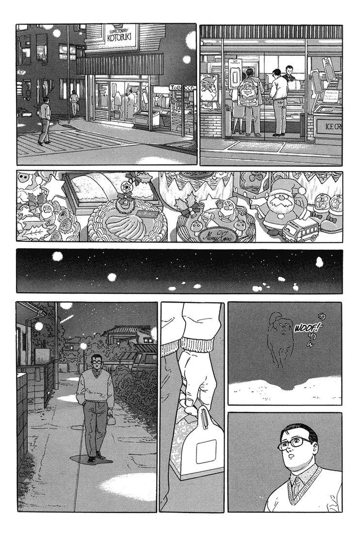 """From """"Aruku Hito"""", by Jiro Taniguchi"""