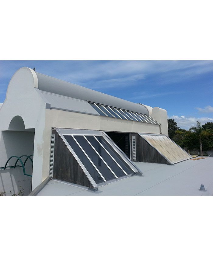 Very cool roof on this building!