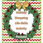 This activity teaches students  to look for details in advertisements  found in Holiday Catalogs, weekend newspapers and flyers.  It requires your ...