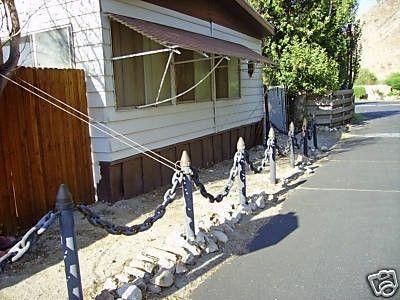 Maritime - Ship's Chain Fence | #42733007