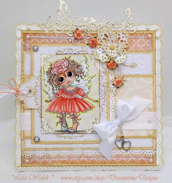 Fairy Special Tabletop Decor - Special Gift - by DreamtimeDesigns